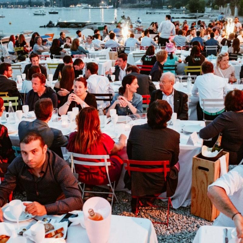 I beach bar top sul lago di Garda